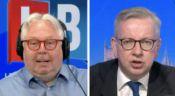 Nick Ferrari wins bet with Michael Gove MP